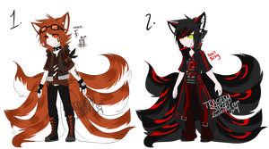 Kitsune adopts .:CLOSED:. by TragedyStreet