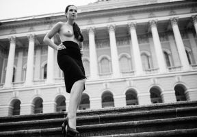 nude in the city 4 by DenisGoncharov