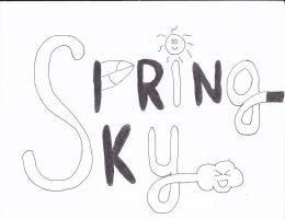 Spring-Sky Logo by Metarex12