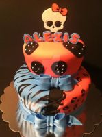Monster High Cake by Corpse-Queen