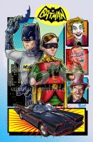 Batman and Robin: 1966 by jonpinto