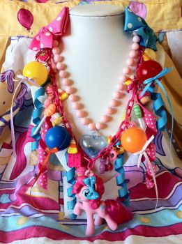 Pinkie Pie Grand Galloping Gala Necklace by lessthan3chrissy