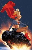Supergirl by AdamHughes