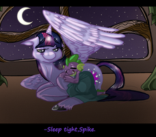 .:CE:.-*.''Sleep Tight My Little Dragon''.*- by Jessicathehedgehog55