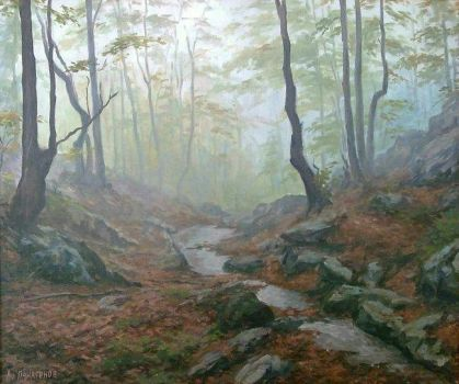 Forestscape by AnatolyPanagonovART