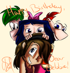 .:Happy Birthday, Debbie!:. by GirlofChaos99999