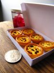 1-3 Miniature Portuguese Egg Tarts by Snowfern