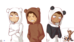 We assassin bears by Tsubaki977