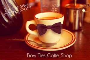Bow Tie coffee Shop fake ad by Dalidarling