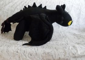 Toothless Plush by Astreum87
