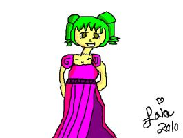 Princess Layla: School Drawing by LaylaSerenity