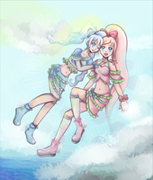 Cure Sweet and Cure Airy by Yukiyukiko