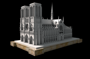 Notre Dame by luizso
