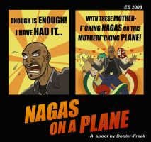 NAGAS on a PLANE by Booter-Freak