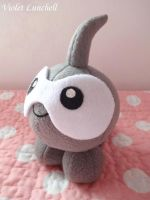 Pokemon Castform plushie by VioletLunchell
