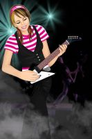 She wants to be a rockstar by MilaLouise