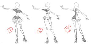 Adoptable: Transform Set 1 CLOSED by Amber0Adoptables