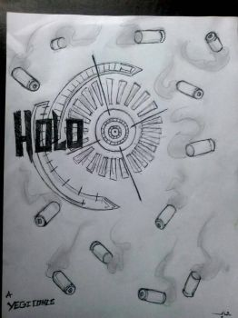my new comic series holopiont  by djyegi