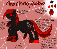 Arachnophobia Ref Sheet by Blemy