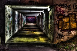 HDR Tunnel by EternalFrame