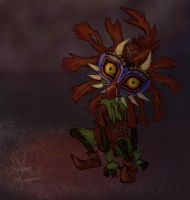 Skull Kid by SelinaSage