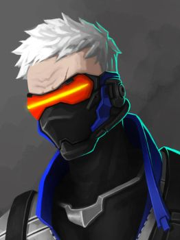 Soldier 76 by Naheht