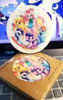 Summer Time Coaster by amy30535