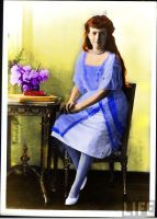 Grand Duchess Anastasia, 1914 by Sonja-from-Finland