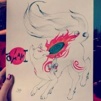 Okami by TheShadowRaven