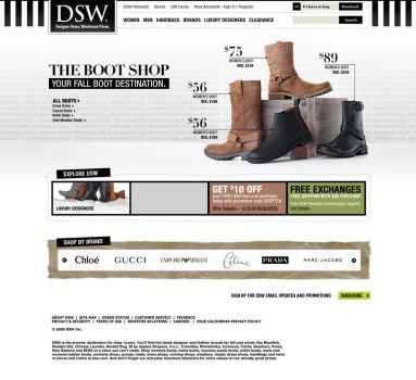 DSW Redesign Concept 02 by Uladk