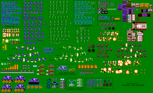 NES-NYTES Sprite Sheet by NO-Body-The-Dragon