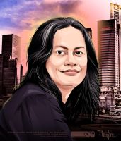 singapore moment_vector by widjana