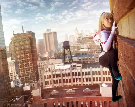 Spider-Gwen by ribkaDory