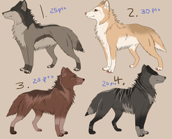 Point Adoptables 2 -GONE- by Daesiy