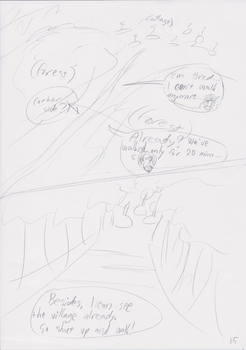 Unnamed Comic Page 15 Rough Draft by C-Survive