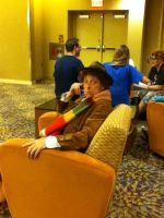 Fourth Doctor at Phoenix Comicon 2012 by saki-senpai