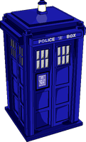 The TARDIS by caseycole11