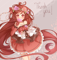 Thank you for the Birthday Wishes by oWinTer