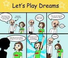 Let's Play Dreams part 1 by Mushroom-Jelly