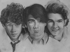 Jonas Brothers WIP4 by Brooque613
