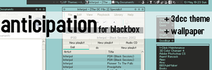 Anticipation for Blackbox by geyl