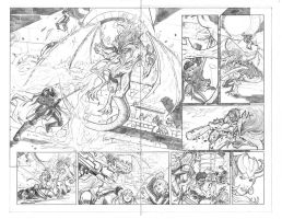 Artifacts 8 page 6-7 Top Cow Talent Hunt 2014-2015 by MarkReindeer