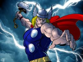 The Mighty Thor by Kenpudiosaki