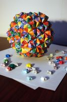 Origami Epcot Ball by thousandleaf0001