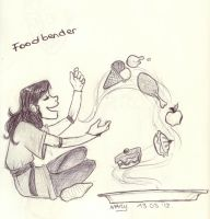 Mary, the Foodbender by MaryBleis