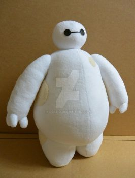 Big Hero 6 - Baymax plushie by gocholudek