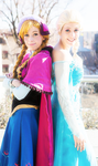 Sisters of Arendelle by tangledinthread