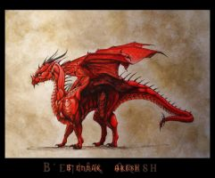 Bentak Aresh by copperdragon