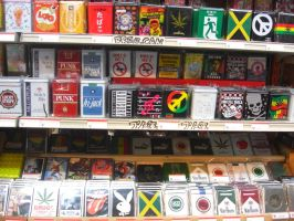 Cigarette Cases by blindbutblink