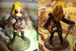 Miniatures Rogue Closeup by MoCaW